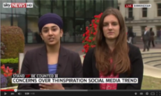 Check us Out on Sky News Tackling Thinspiration